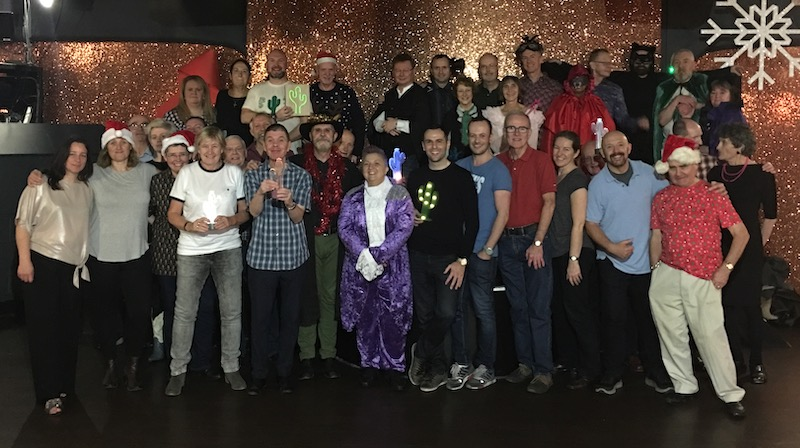 End of 2018 Party Group Picture